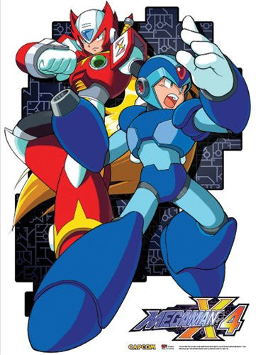 Megaman X4 - Mega Man And Zero Wallscroll