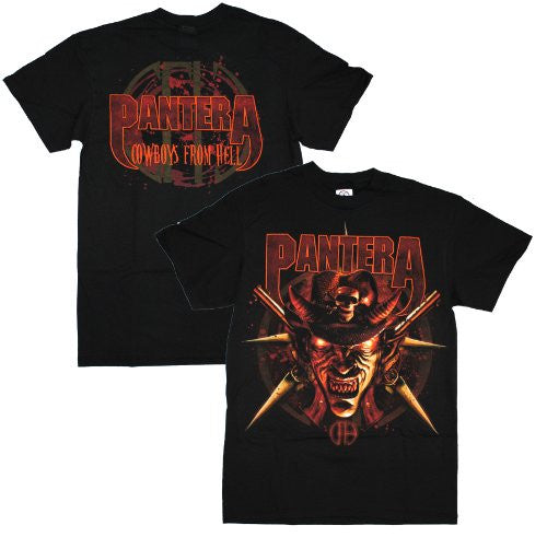 Pantera Cowboy from Hell T-Shirt Size M