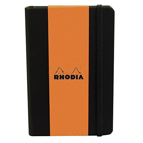 Rhodia Boutique Webnotebooks Bound 5 ½ x 8 ¼ Dot grid Black 96 sheets
