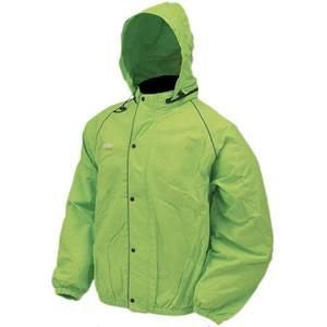 Frogg Toggs Road Toad Jacket (lime green / X-Large)