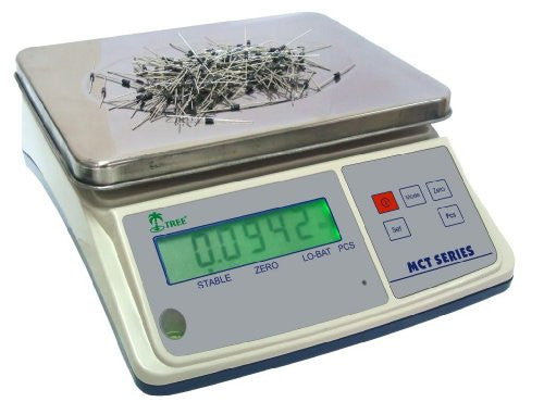 Mid Counting Scales - 16 lb x 0.0005lb