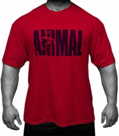 Animal T Shirt Red, Medium