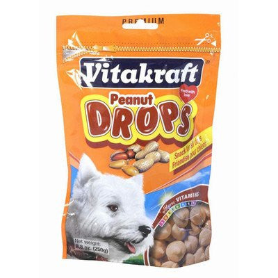 Vitakraft Dog Peanut Drops 8.8oz