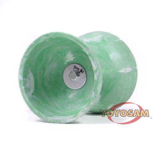HB Element Rubber Diabolo- Green