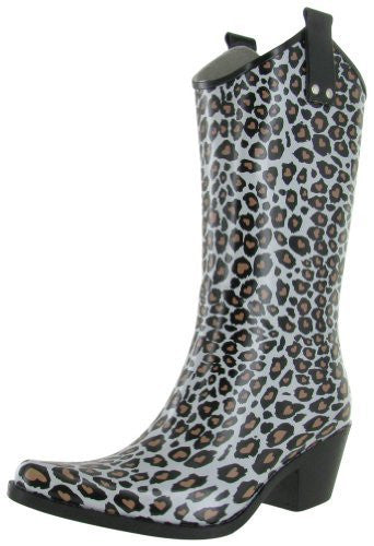 Yippy Brown/White Leopard - 6 B(M) US