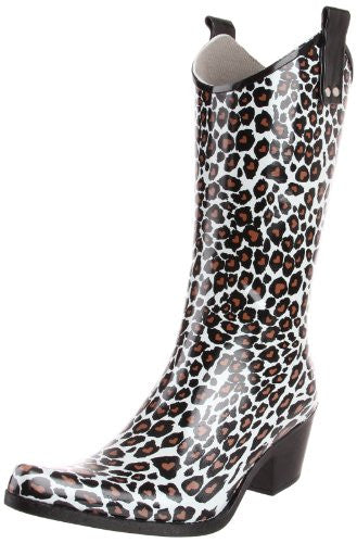 Yippy Brown/White Leopard - 8 B(M) US