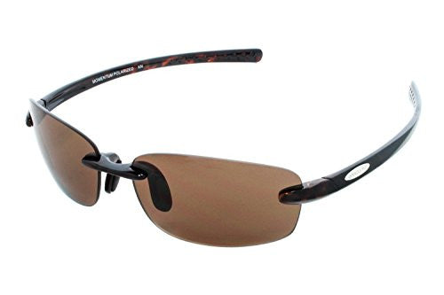 Momentum Black with Gray Polarized Polycarbonate Lens