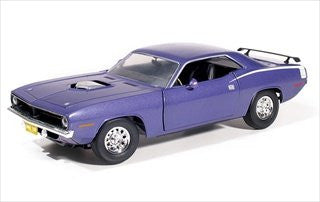 First Gear - Plymouth Barracuda (1970, 1/25 scale diecast model car, Violet)