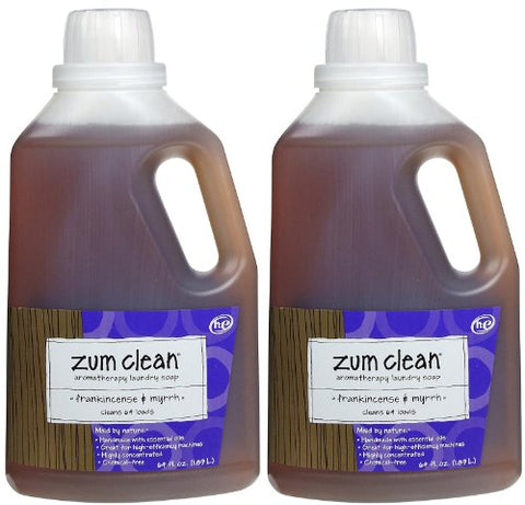 Zum Clean Laundry Soap - Frankincense & Myrrh, 64.0 oz