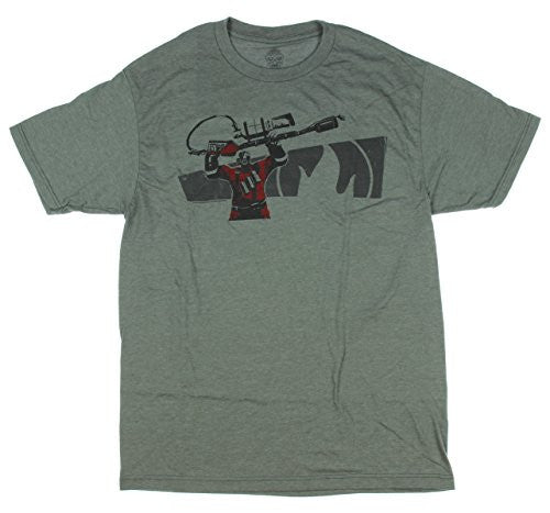 Team Fortress 2 Pyro Premium Tee- Platinum Heather, Small