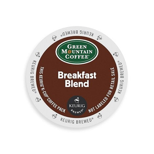 Green Mountain Coffee® Breakfast Blend Coffee K-Cup® Packs, 24/Bx