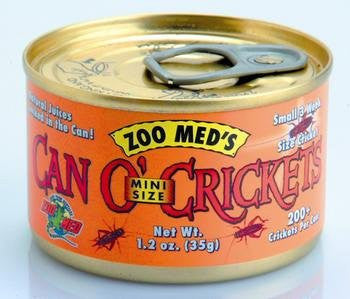 ZOO MED LABORATORIES INC CAN O MINI CRICKETS 1.2 OUNCE