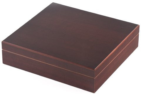 Orleans Group C-15 20 Count Cherry Humidor W/Humidifier And Brass Hinges 9In X 8