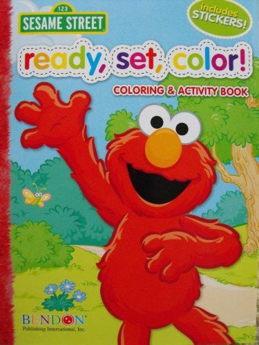 Coloring & Activity Books w/Stickers - Sesame Street (144pg)