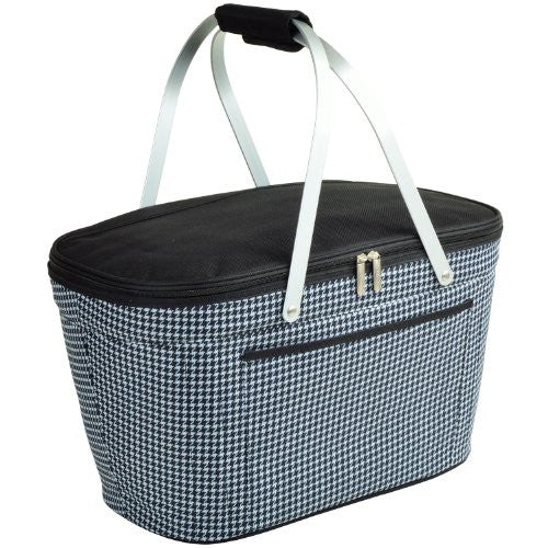 Collapsible Basket Cooler (Color: Black)