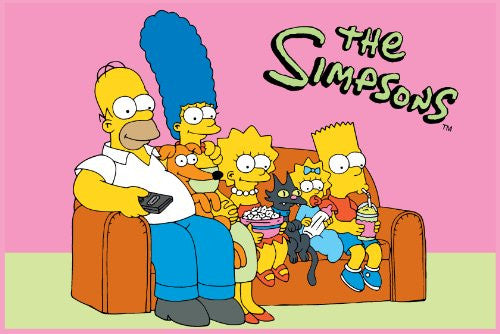 "Simpsons-MP Family Portrait 19""x29"""