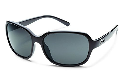 Sequin Black with Gray Polarized Polycarbonate Lens