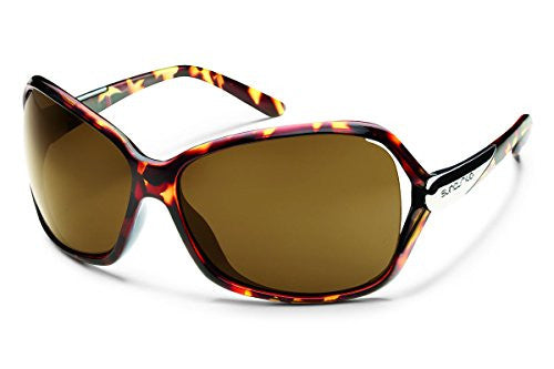 Symphony Tortoise with Brown Polarized Polycarbonate Lens