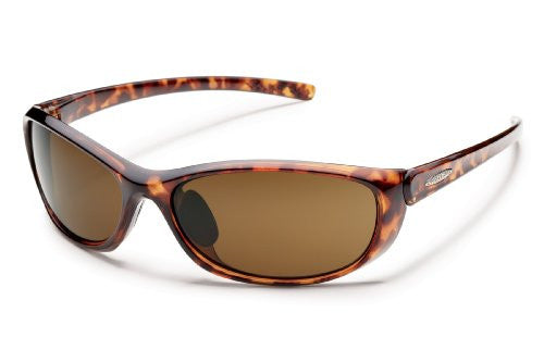Wisp Tortoise with Brown Polarized Polycarbonate Lens