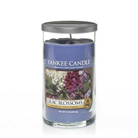 Yankee Candle Lilac Blossoms Piller 12oz Candle