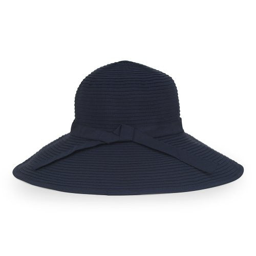 Beach Hat, Navy, One size