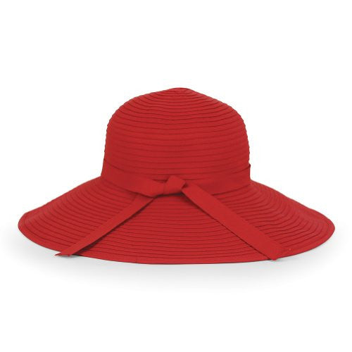 Beach Hat, Red, One size