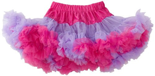 Purple/Hot Pink Pettiskirt, Large