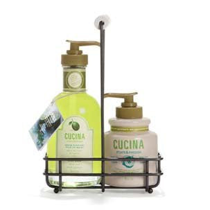 Cucina Hand Care Duo (Select Scent) (Scent Name: Lime Zest and Cypress)