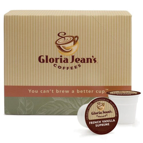 Gloria Jean's® French Vanilla Supreme Coffee K-Cup® Packs, 24/Bx