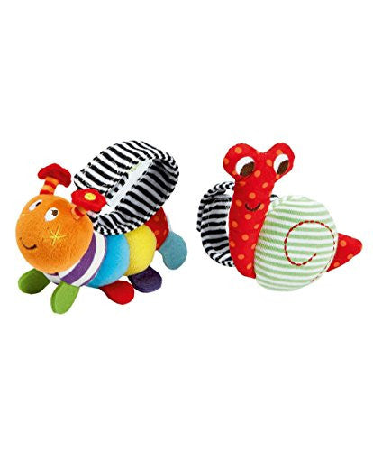 Babyplay - Baby Wrist Rattle Pack