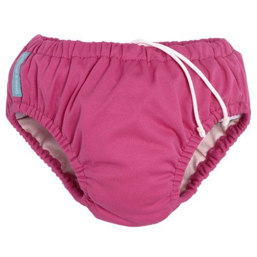 Charlie Banana Swim Diaper (Medium 16-21 lbs, Hot Pink)