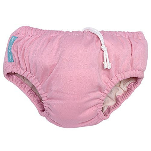 Charlie Banana® Swim Diaper & Training Pants - Baby Pink (S)
