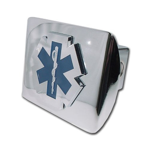 EMS Shiny Chrome Hitch Cover