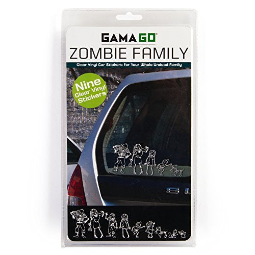zombie family decals