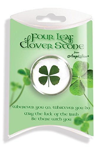 Four Leaf Clover Stone (Pillow Packed)