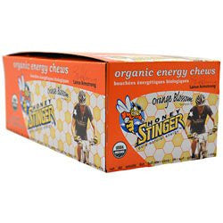 Honey Stinger Energy Chews Orange Blossom -- 12 Packages