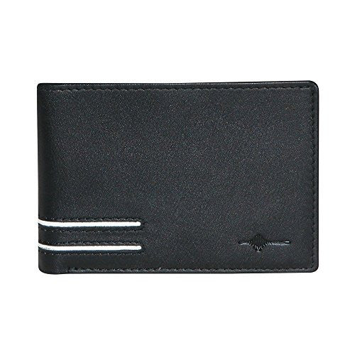 Buxton Luciano Front Pocket Slimfold - RFID (Black)