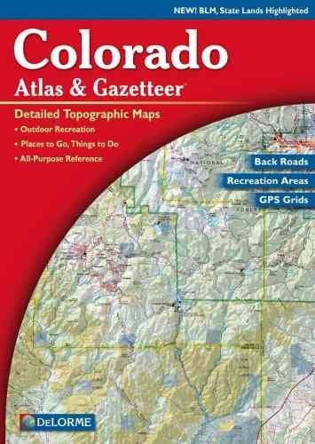 Colorado Atlas & Gazetteer