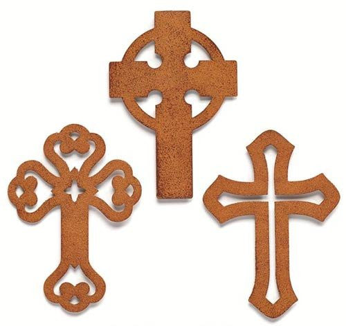 Embellish Your Story Rustic Cross Magnet Set