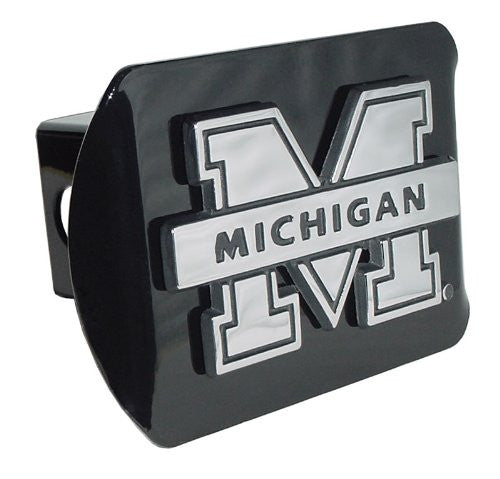 "Michigan (""M"") Black Hitch Cover"