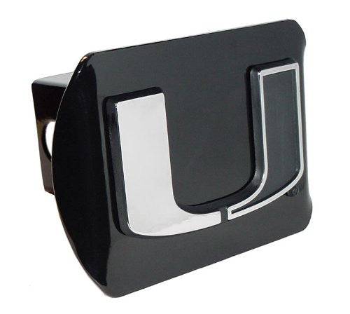 Miami (Split U) Black Hitch Cover
