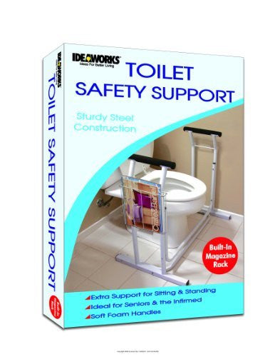 Deluxe Toilet Safety Support, Deluxe Toilet Safety Support