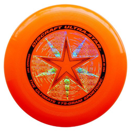 175 gram Ultra Star  (Bright Orange)