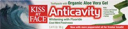 3.4 oz. WHITENING GEL TOOTHPASTE W/ ANTICAVITY FLUORIDE