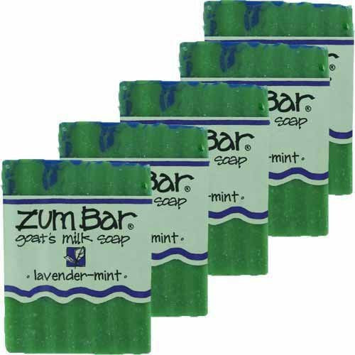 ALL-NATURAL GOAT'S MILK SOAP LAVENDER-MINT ZUM BAR 3oz