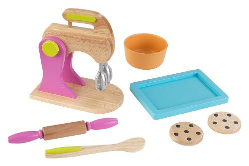 KidKraft Wooden New Baking Set - Brights