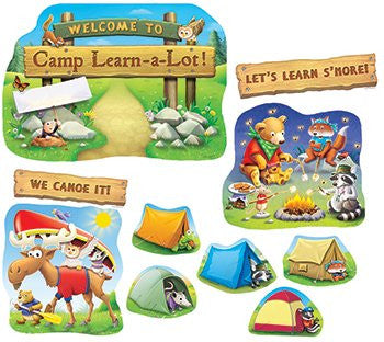 Camp Learn-a-Lot Bulletin Board Set