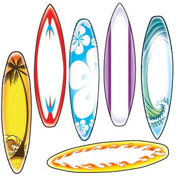 Bulletin Board Accents, Surfboards