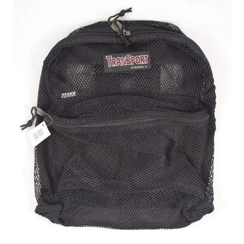 Mesh Back Pack, Black