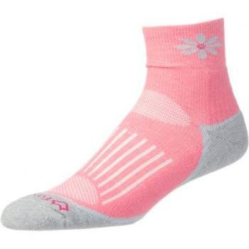 AXT Strive Quarter Crew WOMEN'S Punch Pink Large